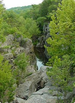 Small gorge on the Potomac River