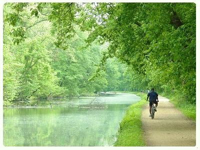 Canal Biker, Maryland